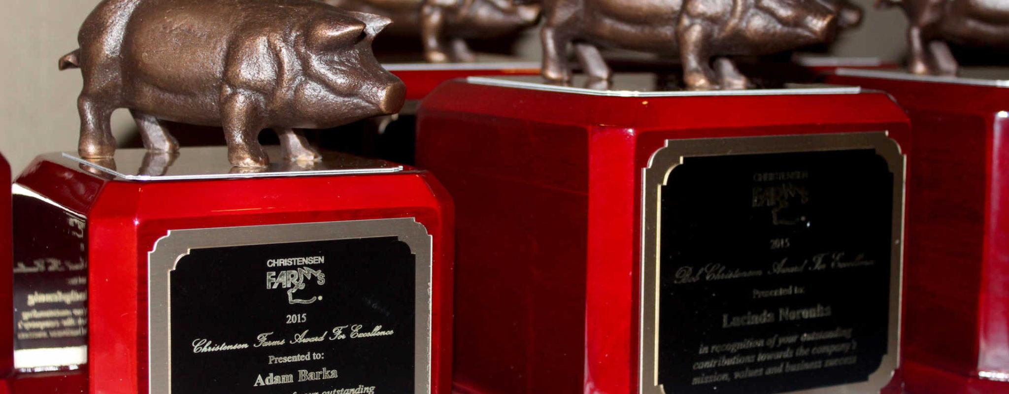 Christensen Farms Hosts Its 3rd Annual Organizational Awards Event