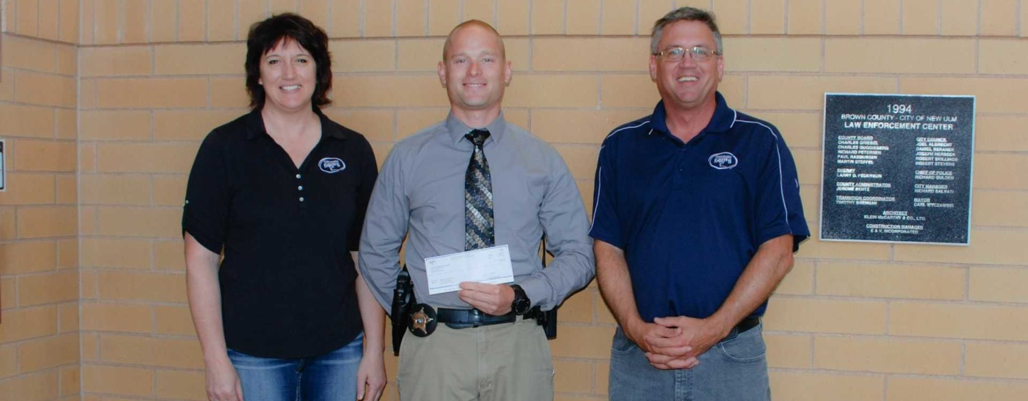 Christensen Farms Thanks Brown County Sheriff's Office Representative for Facilitating Training