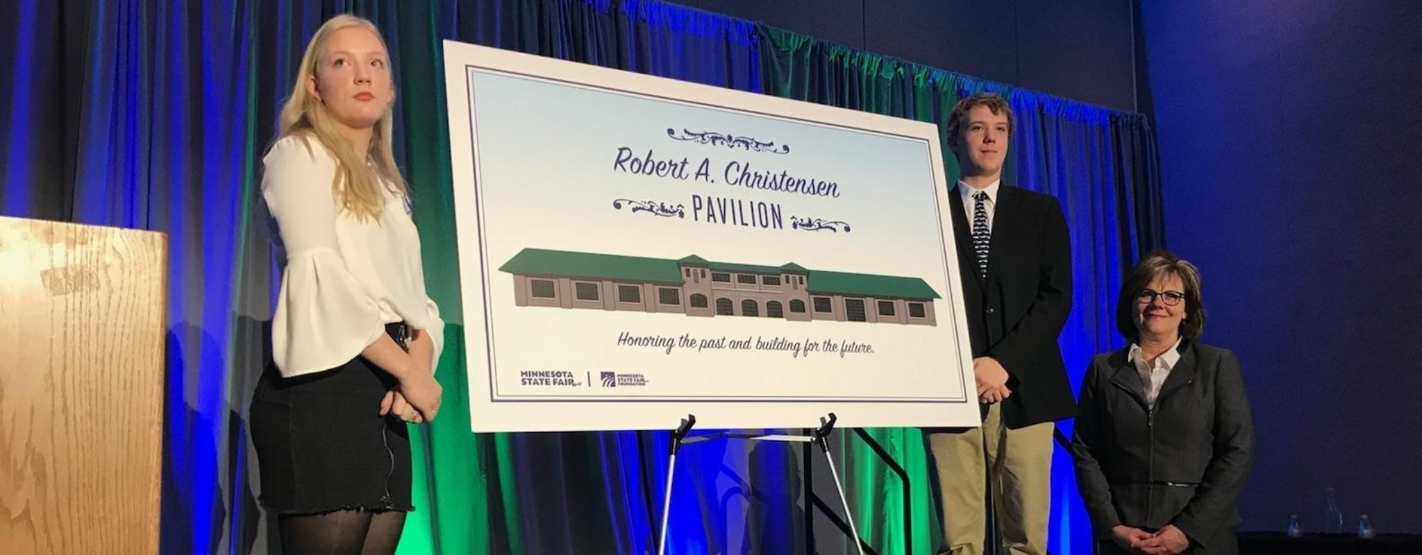 Minnesota State Fair's Swine Barn Is Named Robert A. Christensen Pavilion