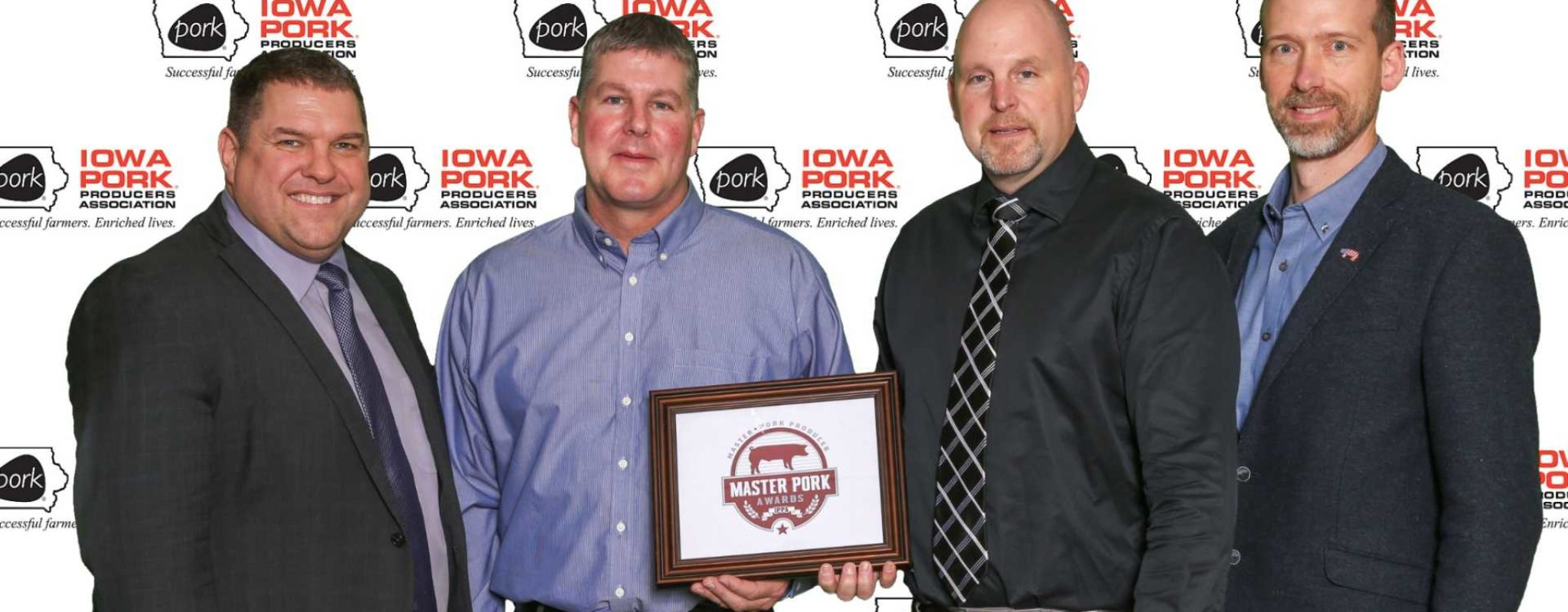 CF Contract Growers Recognized as Iowa Master Pork Producers